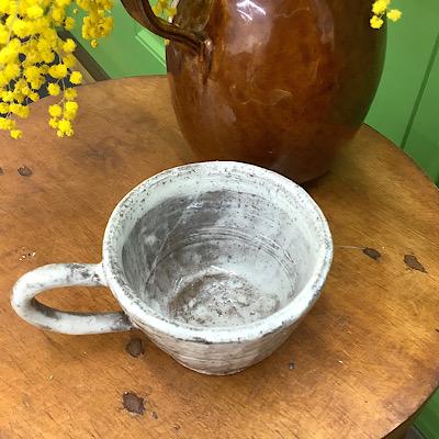 陶芸カップの写真