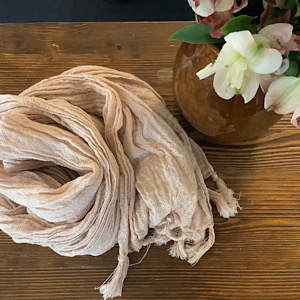 木綿のショールの写真