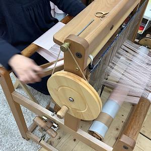手織りの写真
