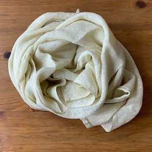 立泡雪栴檀草の布の写真