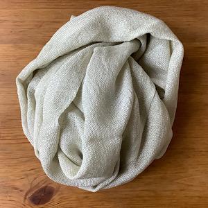 ホーリーバジルのタオルの写真