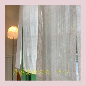 月桃のカーテン